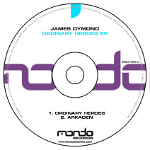 MND122CD: James Dymond - Ordinary Heroes EP