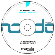 MND123CD: Sunspectre - Merseyside EP