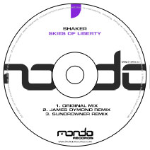 MND129CD: Shaker - Skies Of Liberty