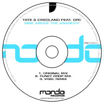 MND130CD: Tate & Credland feat. DPC - Rise Above The Anarchy