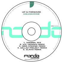 MND131CD: Up & Forward - Aquamarine