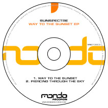 MND136CD: Sunspectre - Way To The Sunset EP