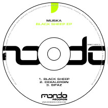 MND149CD: Muska - Black Sheep EP