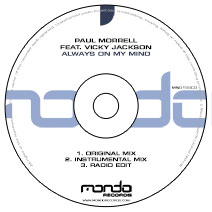 MND155CD: Paul Morrell feat. Vicky Jackson - Always On My Mind