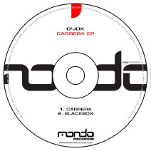 MND157CD: D'jok - Carrera EP