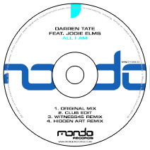 MND159CD: Darren Tate feat Jodie Elms - All I Am