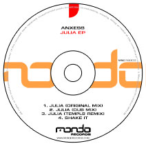 MND160CD: Anxess - Julia EP