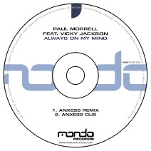 MND161CD: Paul Morrell feat. Vicky Jackson - Always On My Mind (Anxess Remixes)
