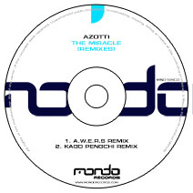 MND164CD: Azotti - The Miracle (Remixes)