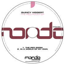 MND219CD: Quincy Weigert - The Red Room EP
