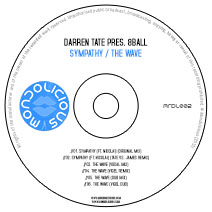 MNDL002CD: Darren Tate pres. 8 Ball - Sympathy / The Wave