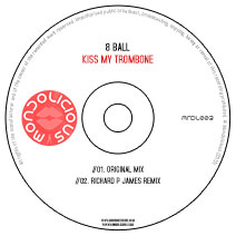 MNDL003CD: 8 Ball - Kiss My Trombone